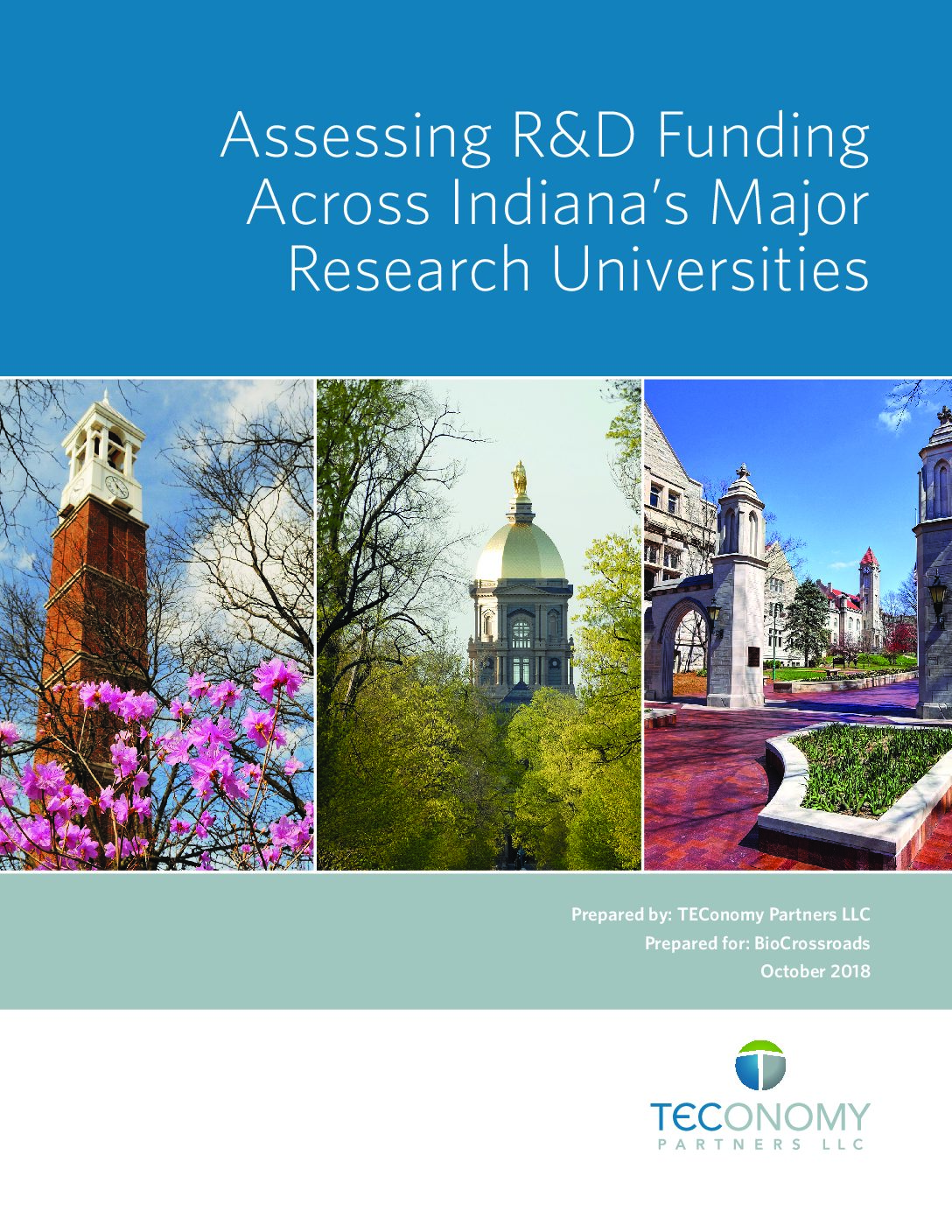 Indiana's major research institutions' R&D dollars outpace nation in some areas, need improvement in others according to new study